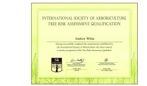 TRAQ Certificate